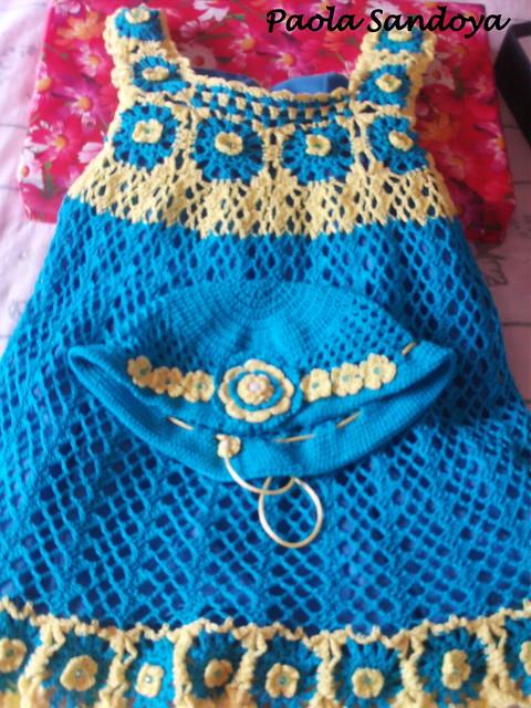 Vestidos a crochet de niña imagui - Imagui
