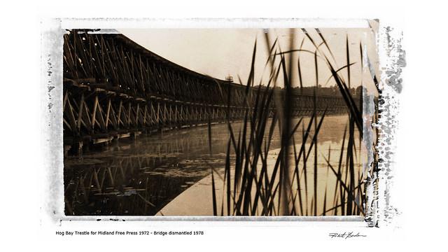 Hog Bay Treslte, Port McNicoll 1972
