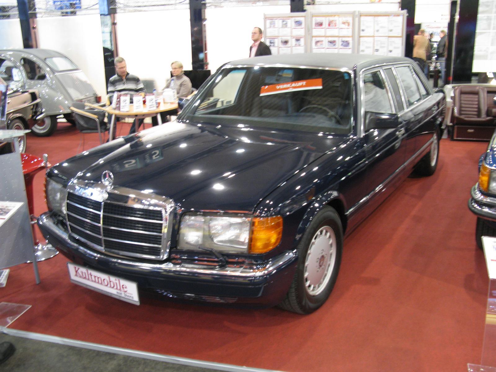 mercedes benz limousine w126 1000sel. Black Bedroom Furniture Sets. Home Design Ideas