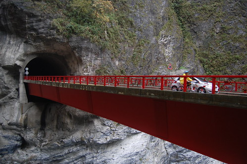 Liufang Bridge in Taroko National Park