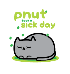 Pnut took a sick day