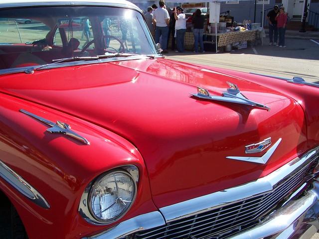 1956 Chevy Belair hood ornament