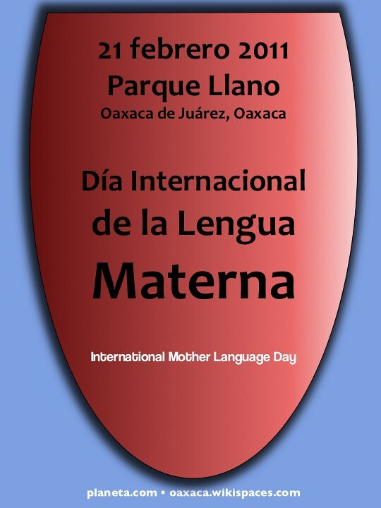 lengua materna poster (free download for mother language day 2011!)