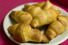 breakfast, baked goods, food, dish, dessert, cuisine, croissant,