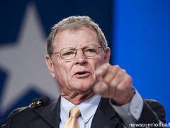 Image of U.S. Sen. Jim Inhofe from TPM