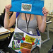 Bag made by HMP Holloway prisoner as part of Dose installation