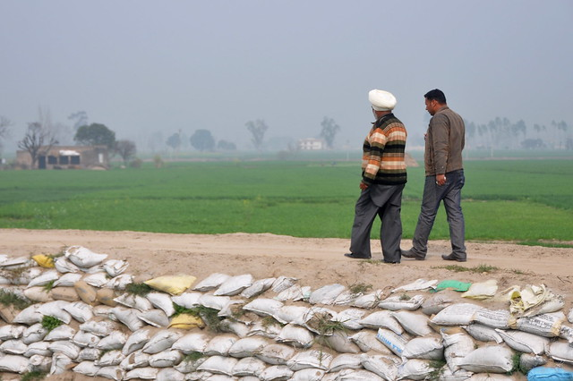 Farmers talk about climate change in India