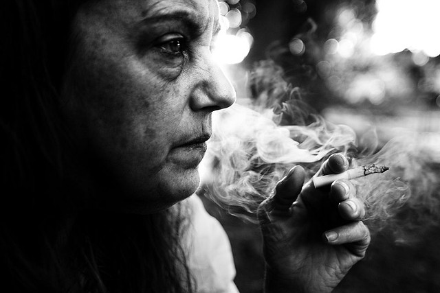 Addiction - Stunning Collection of Smoking Portraits