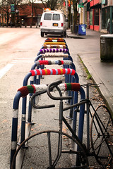 bike corral cozy up