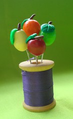 fruit pin toppers