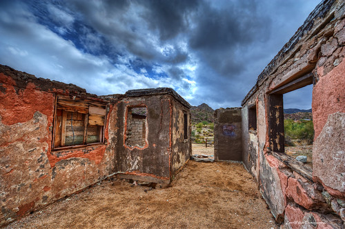 park arizona mountain building abandoned phoenix architecture paintshop photo nikon south az historic scorpion pro hdr topaz gulch x3 photomatix d700 1424mm