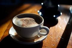 ristretto(0.0), caff㨠americano(0.0), espresso(1.0), cappuccino(1.0), cup(1.0), coffee(1.0), coffee cup(1.0), turkish coffee(1.0), caff㨠macchiato(1.0), drink(1.0), caffeine(1.0),