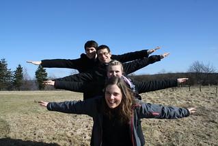 Jannika, Marta, Florian & Julian