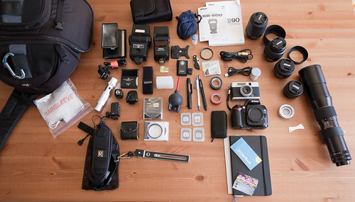 Camera Bag Geekiness 2011