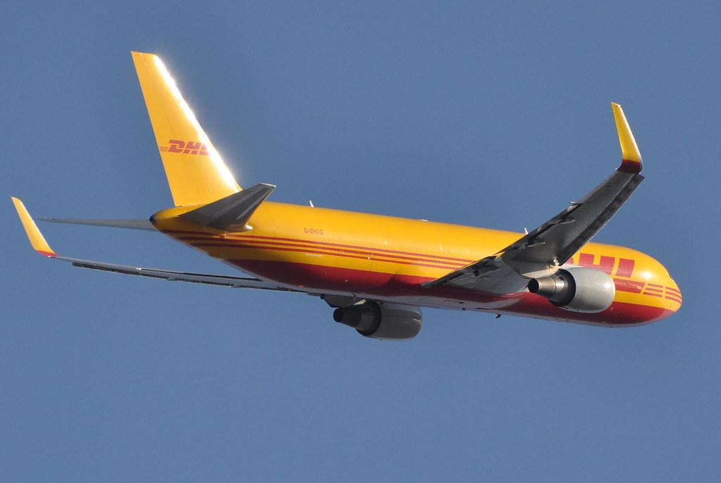 G-DHLG - B763 - DHL Air