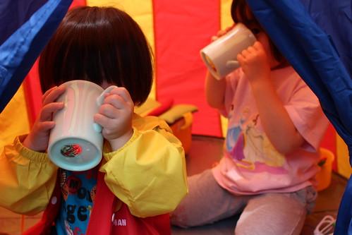 イケアの子供用テント6