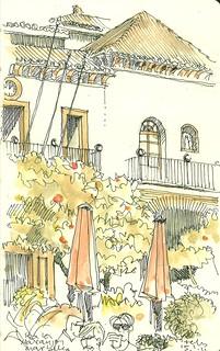 Pza de los Naranjos, Ayuntamiento. Marbella