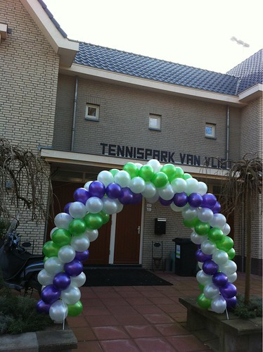 Ballonboog 5m Tennispark van Vliet Schiedam