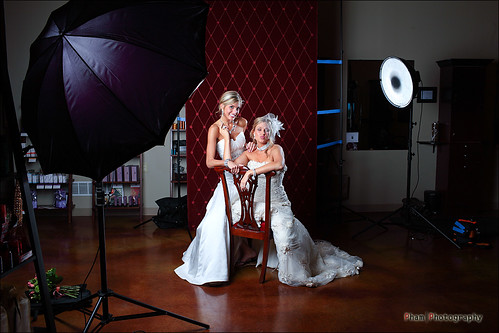 Kim and Aurielle Set up shot