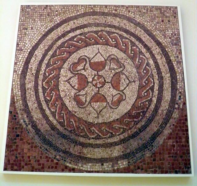 The Bank of England Mosaic, Roman Britain, British Museum