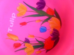 A tulip bowl