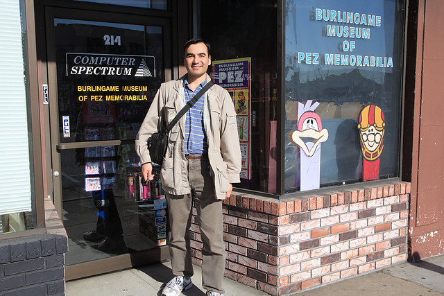 Me at the PEZ Museum