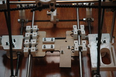 RepRap Huxley Y-axis detail
