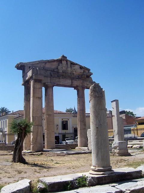 The Gate of Athena Archegetis, The Roman Forum (Athens)