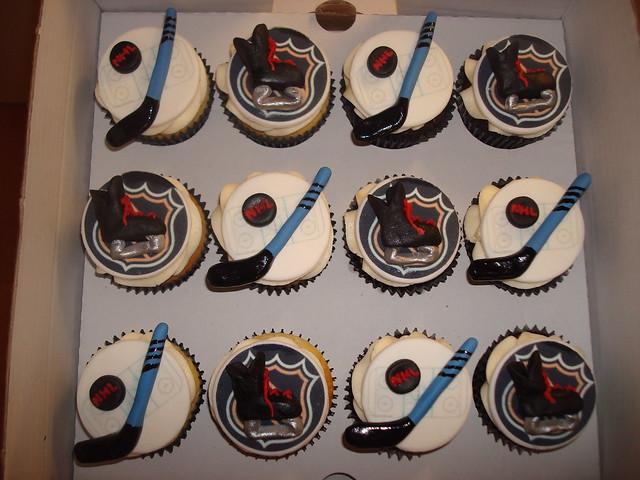 Hockey Baby Shower Cake