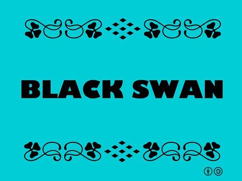 Buzzword Bingo: Black Swan