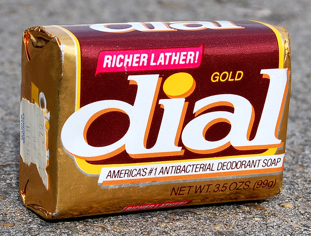 Gold Dial Soap, 1980's
