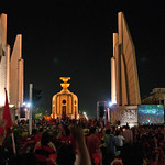 Democracy Monument; Feb 13, 2011