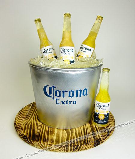 Beer In A Bucket Cake
