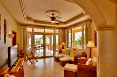 Belizean Cove Estates Living Room