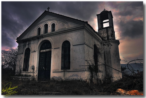 abandoned church geotagged hellas panasonic greece drama hdr saintgeorge orthodoxchurch abandonedchurch nikiforos northgreece 3xphdr dmczx1 mygearandme flickrstruereflection1 geo:lat=41165501690336754 geo:lon=24306000746421773