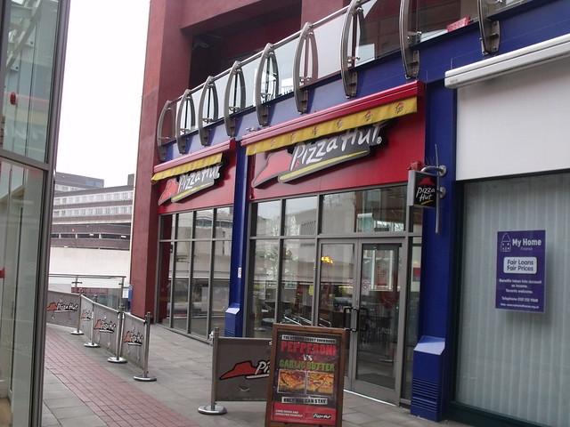 Pizza Hut Bull Ring Birmingham Birmingham