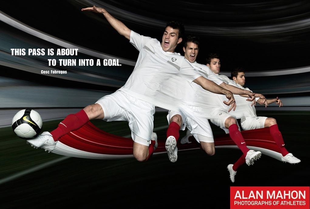Cesc Fabregas for Nike Asia  b551e6afad
