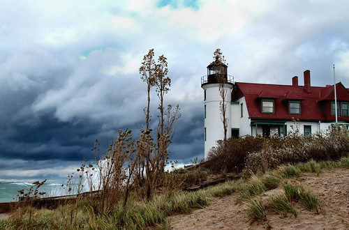 Storm at Pt. Betsie ©Nicole Wamsley