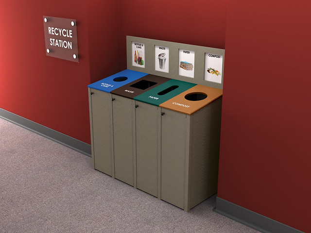 max-R Indoor Recycling Bin   Flickr - Photo Sharing!