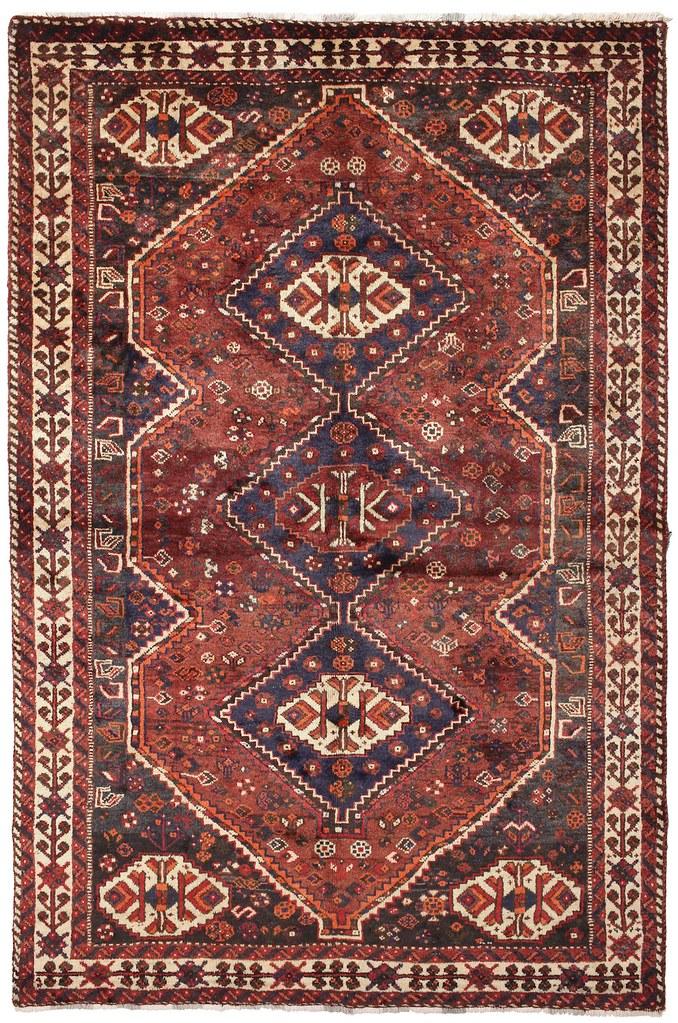 Shiraz carpet 260x168 cm from Persia / Iran