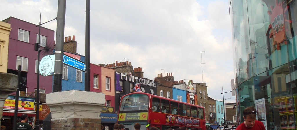 Camden Town, London, UK  - May 2005  - Patrick Nouhailler  ©