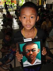 Naomi Daniel portrait and child