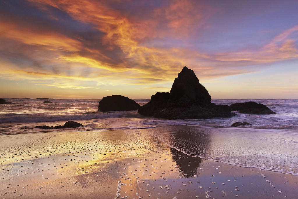 Bid for Earthquake Relief! The Monolith of Grey Whale Cove #2 - San Mateo County, California