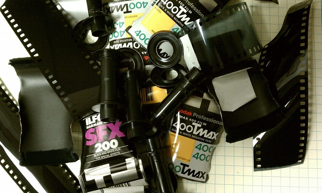 The chicken bones of developing film.