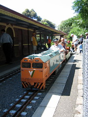 G520 at the Box Hill Miniature Railway