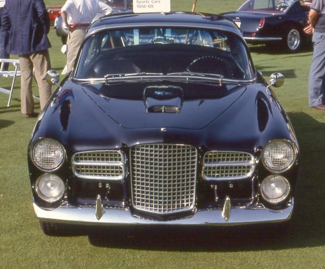 1957 Facel Vega FVS-4 coupe