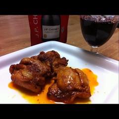 タンドリーチキン&Wine