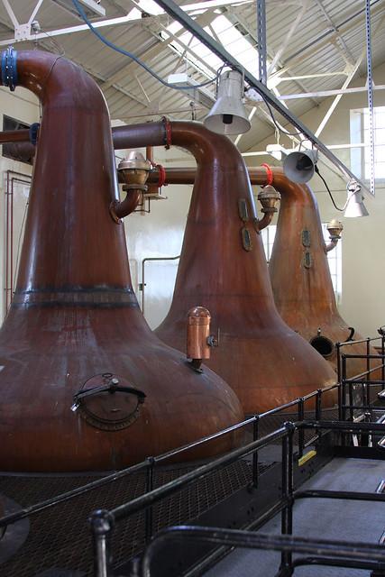 Highland Park Distillery Stills