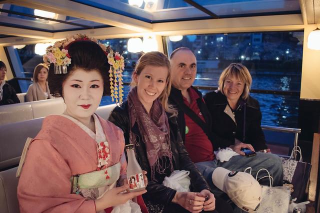 river cruise geisha tokyo
