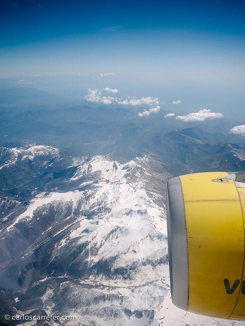 Las estribaciones de los Alpes